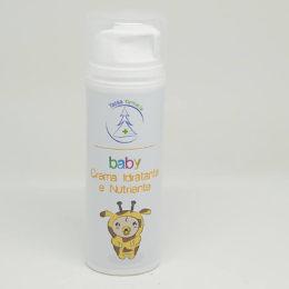 Crema idratante e nutriente baby